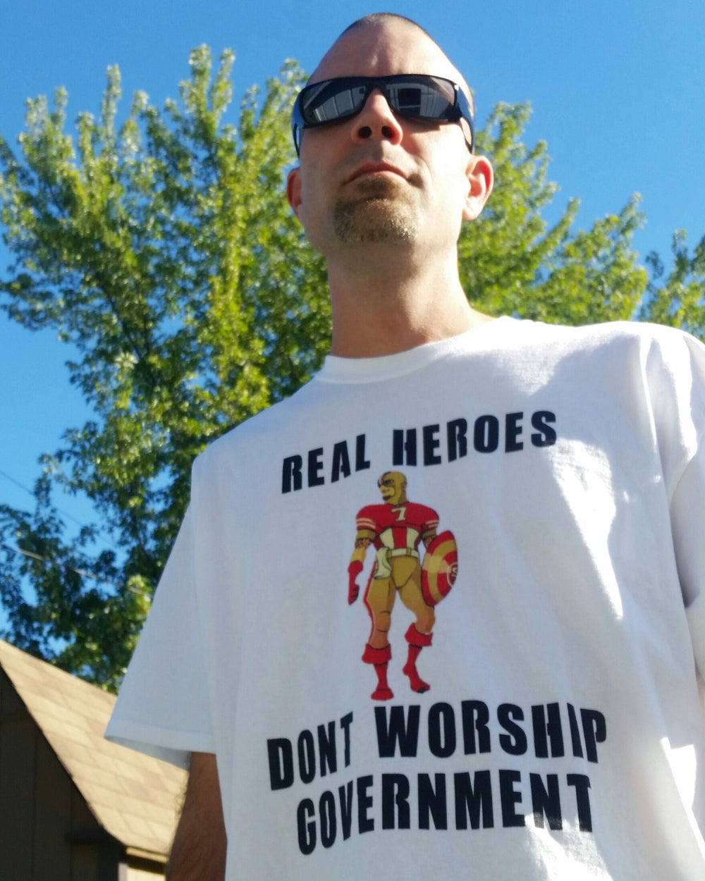 Image of Real Heroes | White