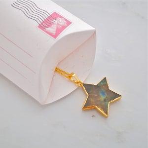 Image of Labradorite star pendant