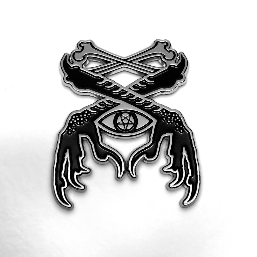 Image of Occult Crow Claw Pin