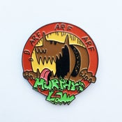 Image of MURPHYS LAW - ARF ARF ARF Enamel Pin