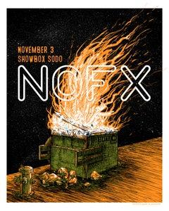 Image of NOFX at Seattle Showbox Sodo