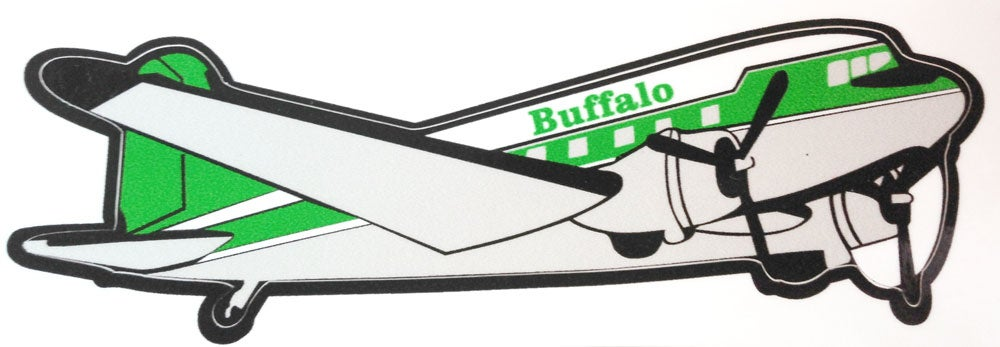 Image of Buffalo DC-3 Laminated Sticker