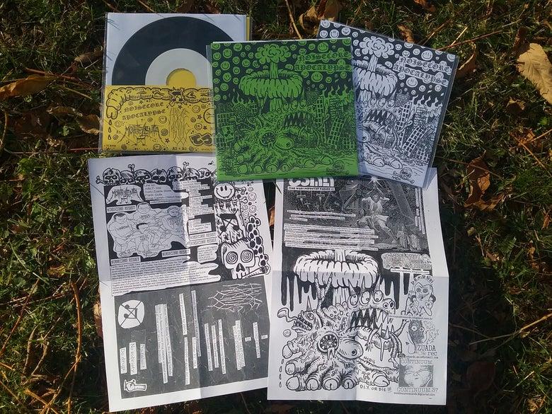 """Image of C.37 NOISECORE APOCALYPSE 7"""" vinyl"""
