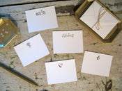 Image of Mini Notes (package of 4)