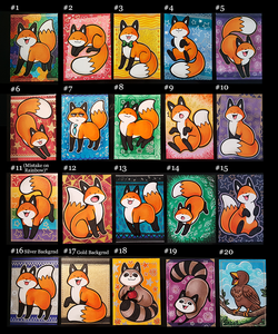 Image of Hand Drawn Fox Cards (Limited)