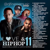 Image of LOVE & HIP HOP MIX VOL. 11 (HIP-HOP/R&B COLLABOS)