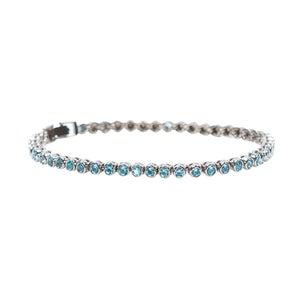 Image of Electric Blue Tennis Bracelet