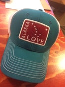 Image of Alaska Love Trucker Hat- Seaport
