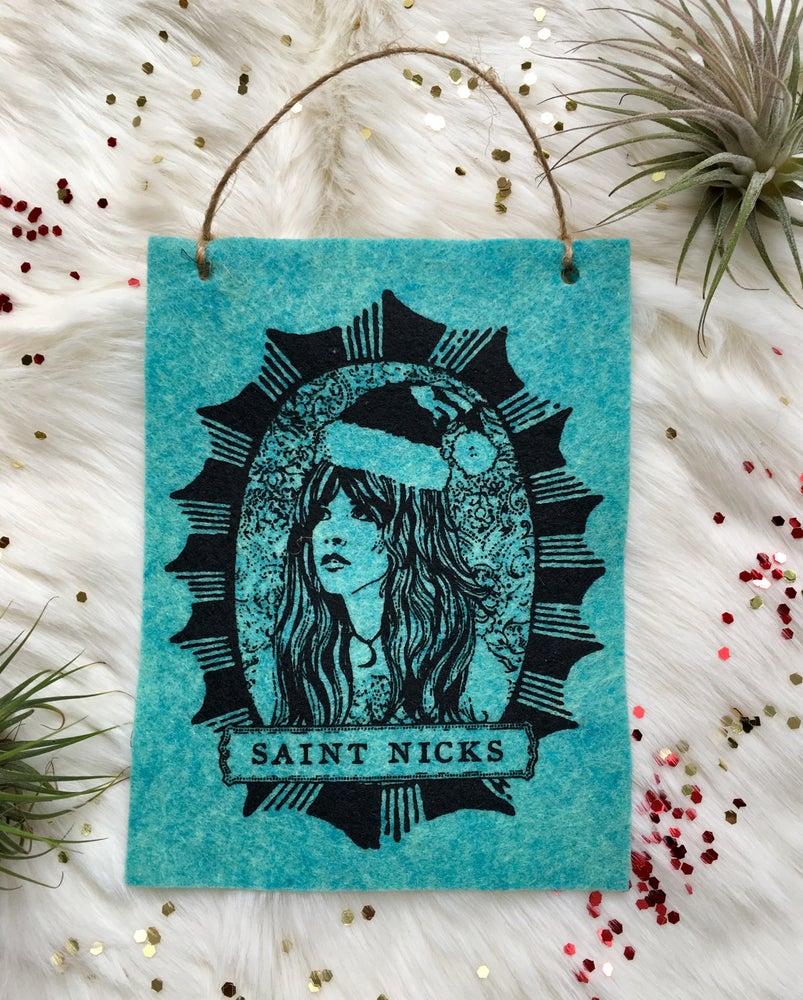 Image of Saint Nicks Ornament / Mini Banner