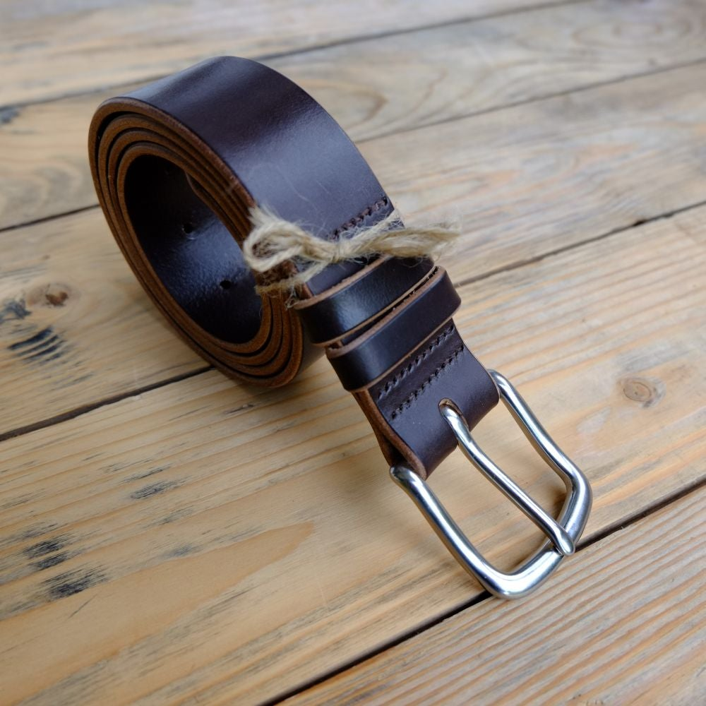 Image of Full Grain Bridle Leather Belt 1½""