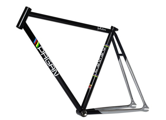 Image of PAGAN Fixed gear track lphitus Frame set