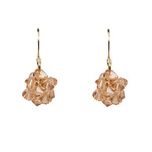 Image of Almost Golden Cluster Earrings