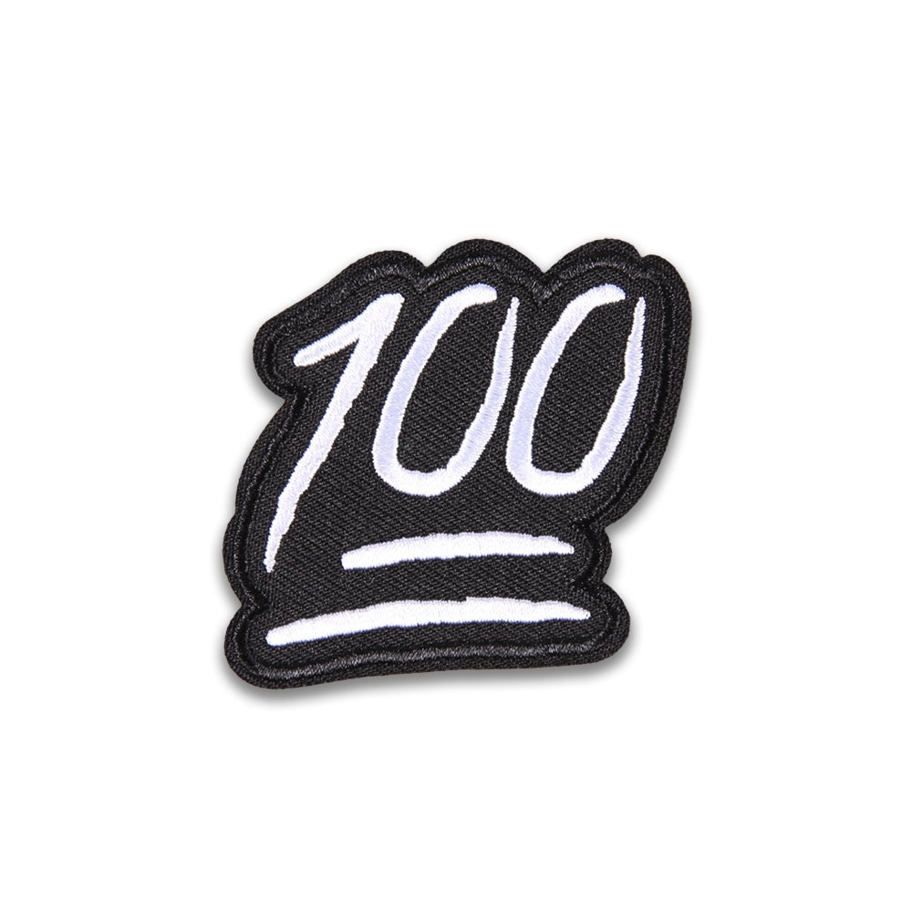 Image of Patch - 100 Black/White
