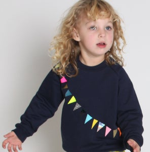 Image of Sweater Garland navy