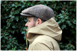 Image of DONOVAN HAT [DONEGAL TWEED]