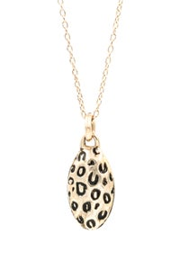 Image of LEOPARD MOOD NECKLACE
