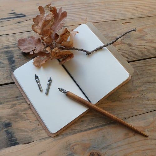 Image of Leather notebook cover
