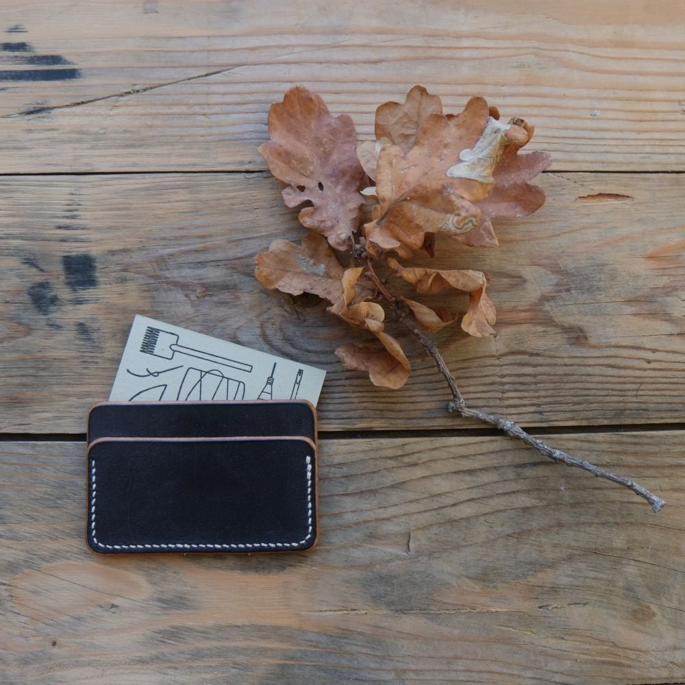Image of Leather slim card case