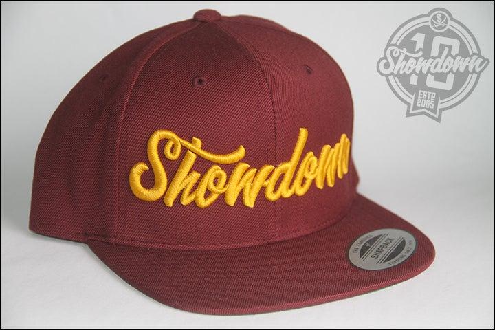 Image of Maroon Signature Snapback