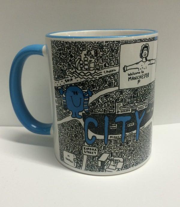 Image of City Doodle Map Mug