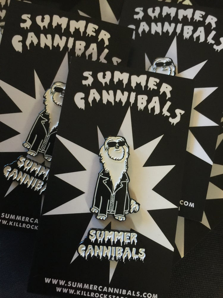 Image of Summer Cannibals Enamel Pin Pack!