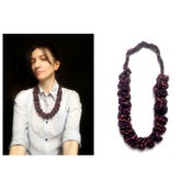 Image of Knitted necklace
