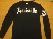 "Image of Limited Edition KY Raised ""LOUISVILLE"" Long Sleeve Tee in Black & White"