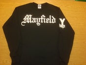 "Image of Limited Edition KY Raised ""MAYFIELD"" Long Sleeve Tee in Black & White"