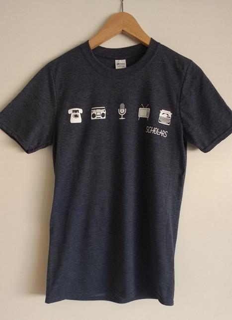 Image of 'Still Not Digital' Icons T-Shirt
