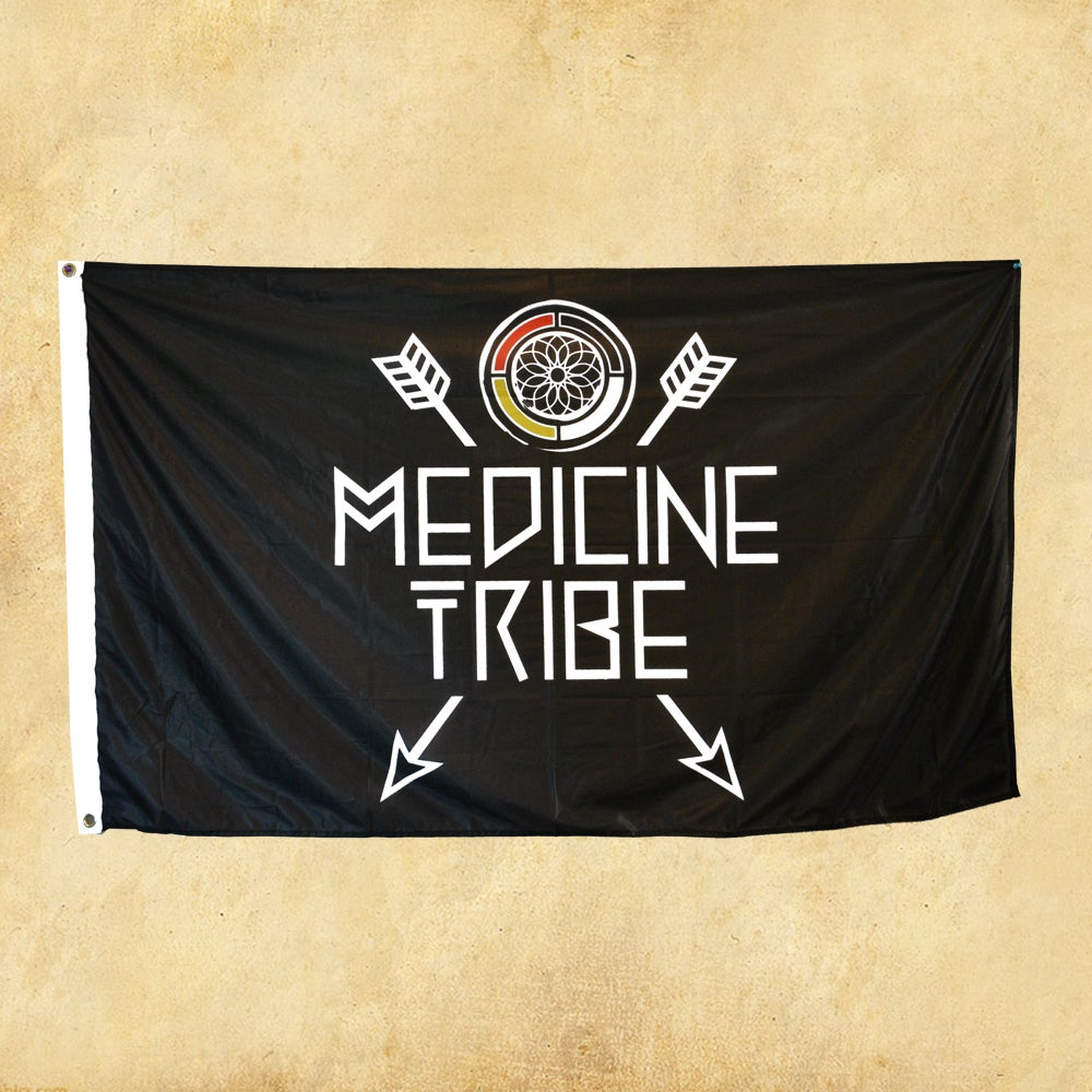 Image of Medicine Tribe Flag