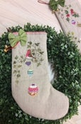 Image of The Robins Ivy Christmas Stocking