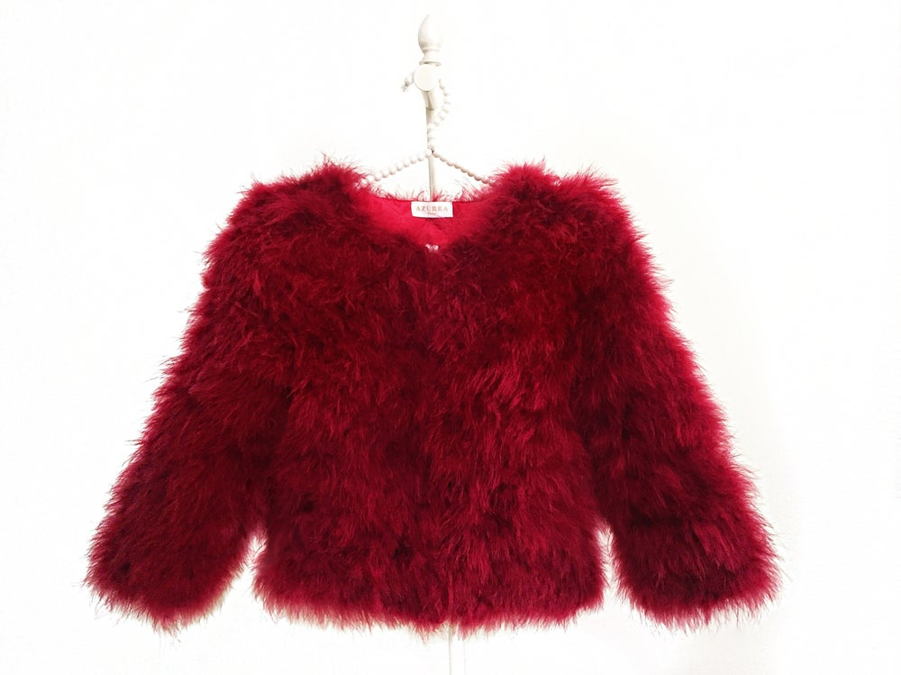 Image of Amsterdam Feather Coat