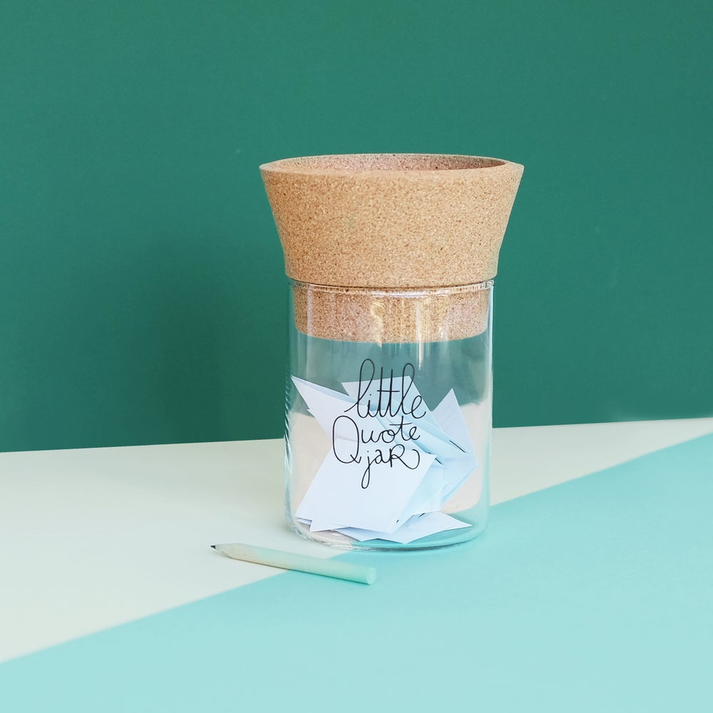 Image of Little Quote Jar