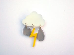 Image of cloud brooch