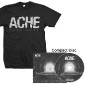 "Image of ACHE ""Fade Away"" CD and Shirt"