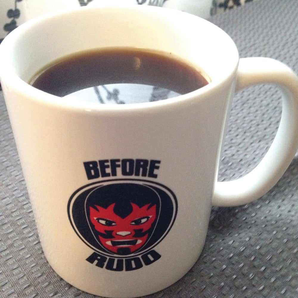 Image of Coffee Cup/Mug: Rudo Before Coffee, Tecnico After