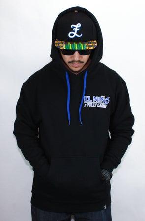 Image of Fully Laced x Gilbert Melendez El Nino Hoodie (Black)