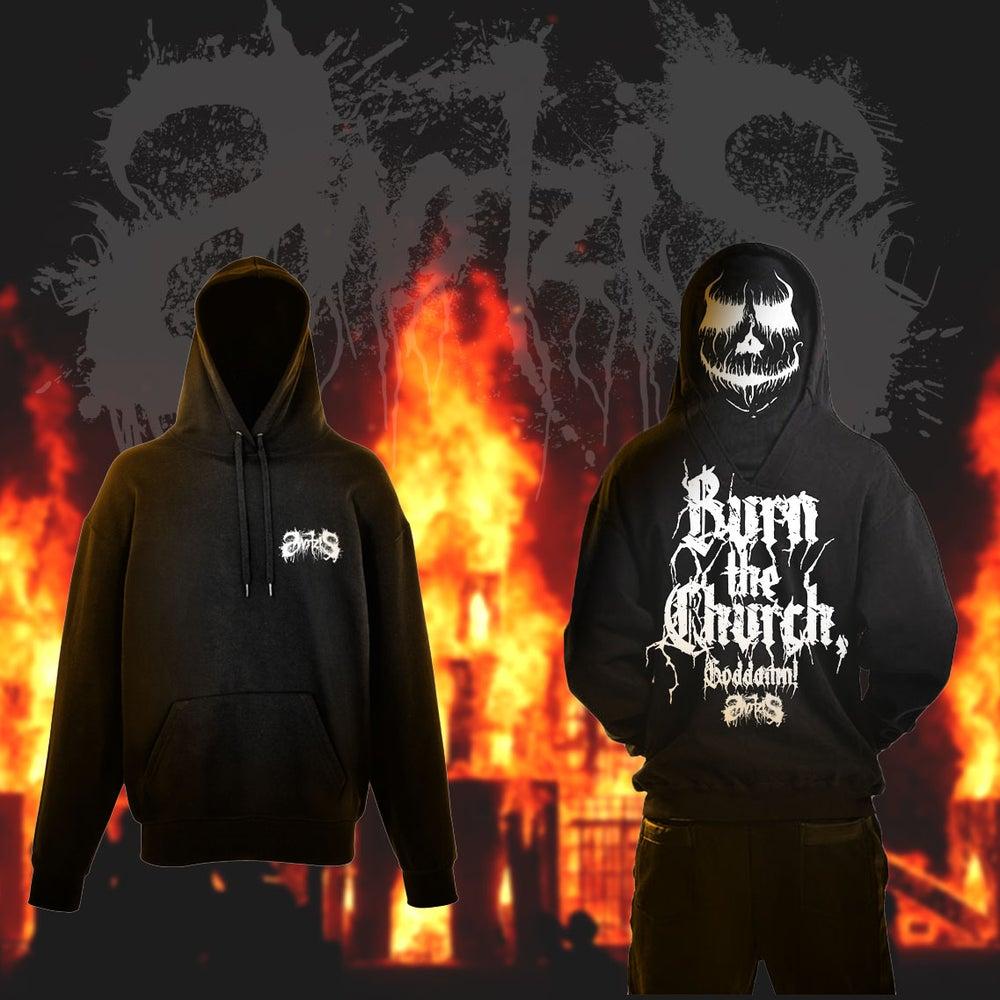 Image of Hoodie BURN THE CHURCH, GODDAMN!