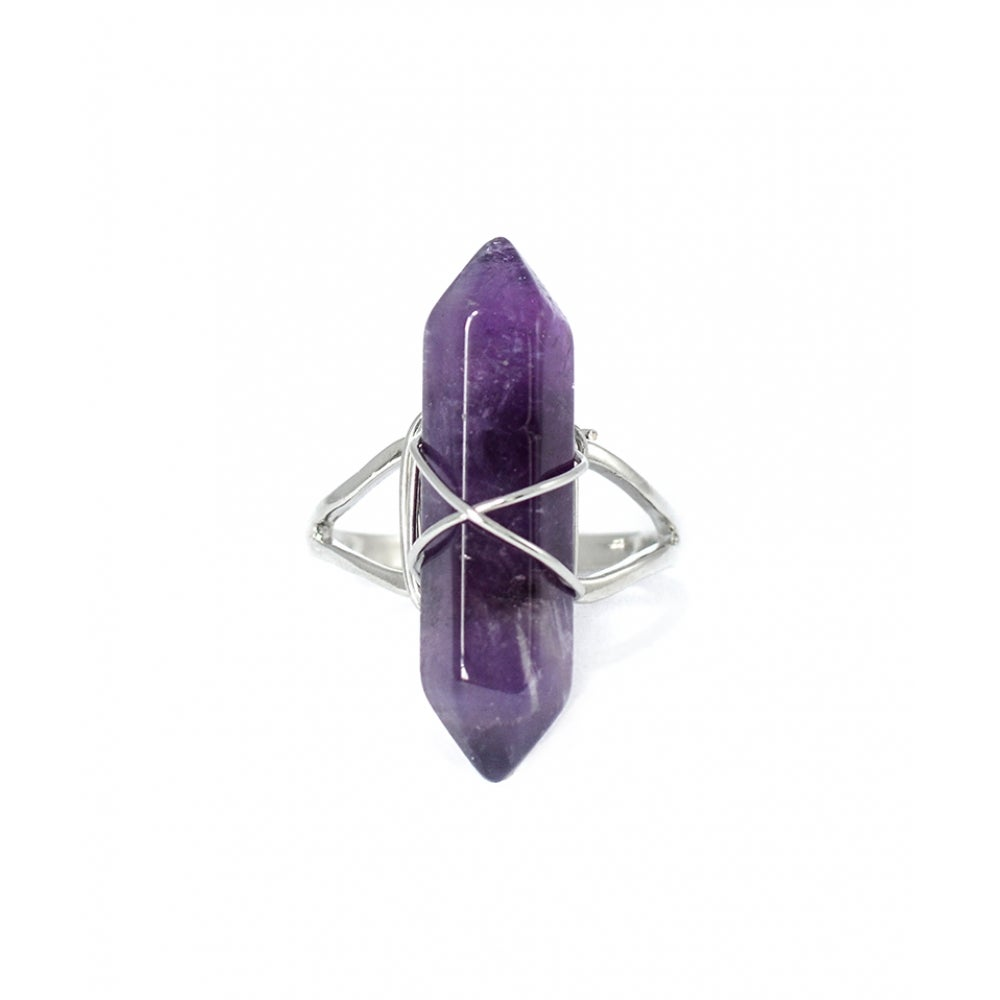 Image of Amethyst Point Ring