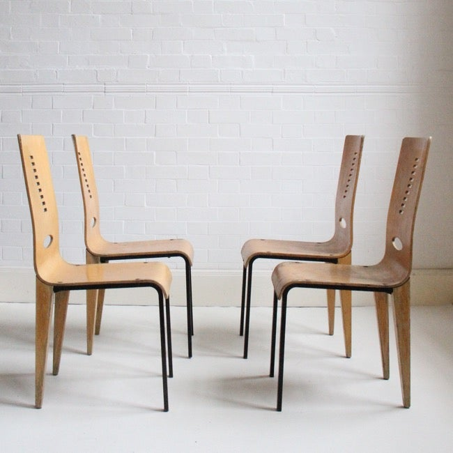 Image of French modernist chairs