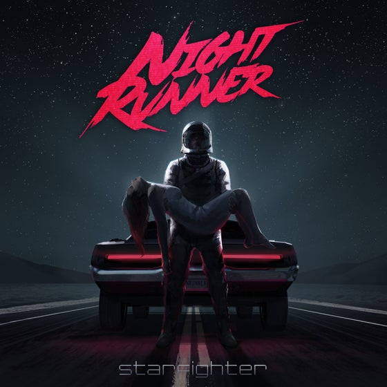 Image of Night Runner: Starfighter - Limited lenticular cover 100 copies (on sale Jan.28th at 3PM EST.)