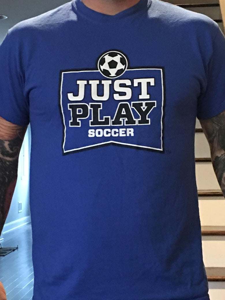 Image of JUST PLAY Soccer Tee