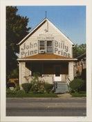 Image of John Prine Chicago 2016 poster