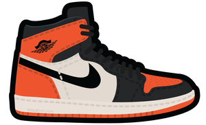Image of AJ I - SHATTERED BACKBOARD