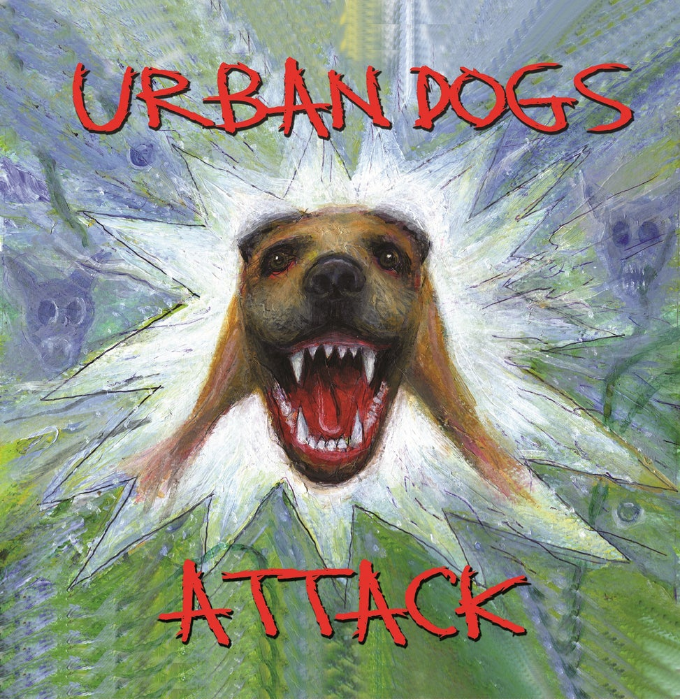 Image of T&M 026 CD - Urban Dogs - ATTACK CD