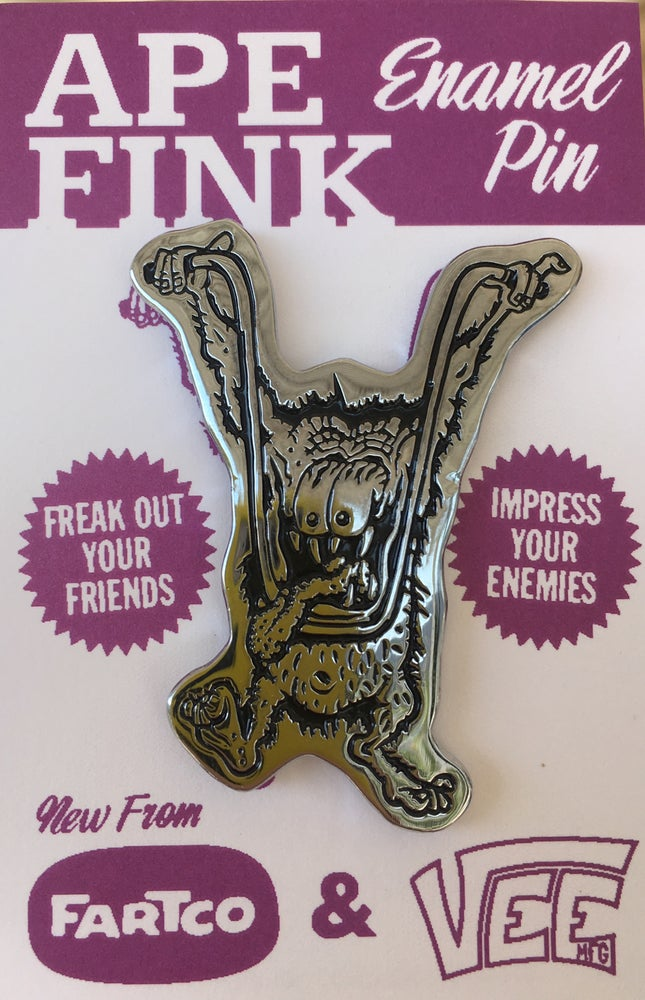Image of Ape Fink pin