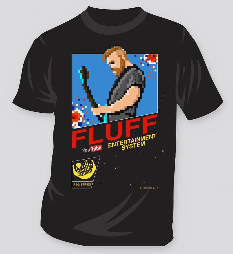 Image of Fluff NES 8-Bit Tee