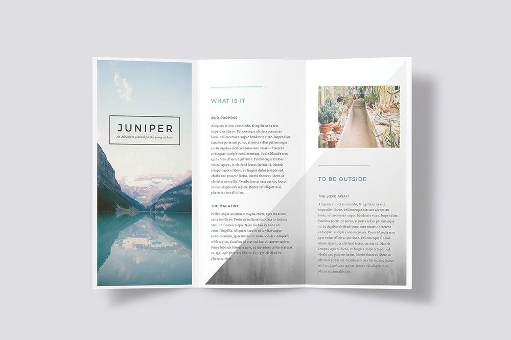 Image of J U N I P E R Trifold Brochure