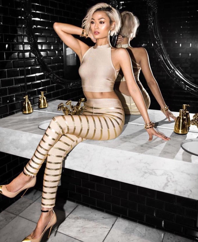 Image of Bandage leggings