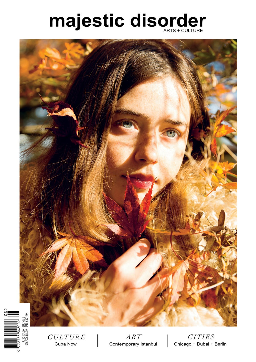 Image of majestic disorder issue 8 Flo Morrissey